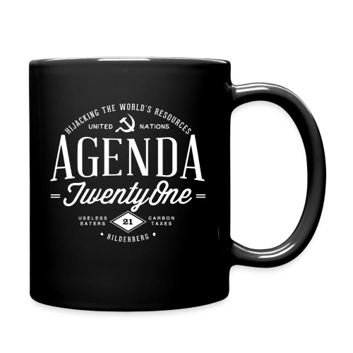 Agenda 21 Coffee Mug - Full Color Mug