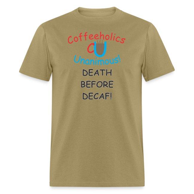CU Death Before Decaf