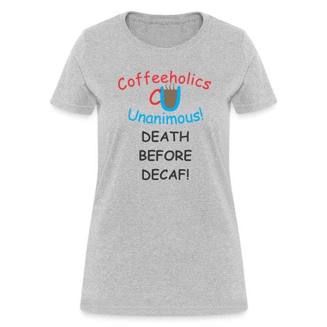 CU Death Before Decaf f