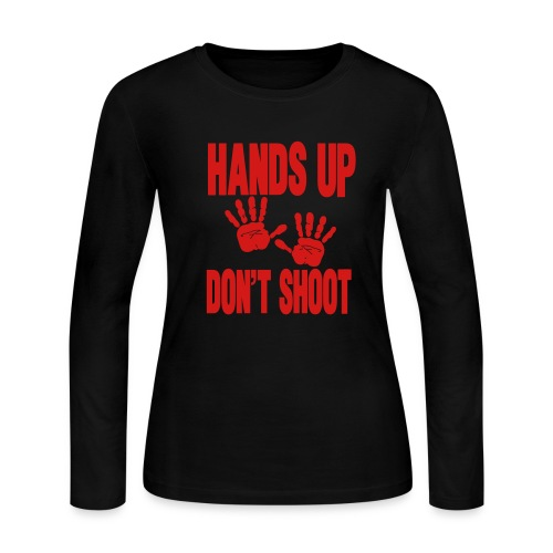 Don't Shoot - Women's Long Sleeve Jersey T-Shirt