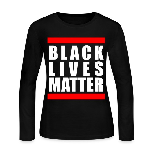 BLM - Women's Long Sleeve Jersey T-Shirt