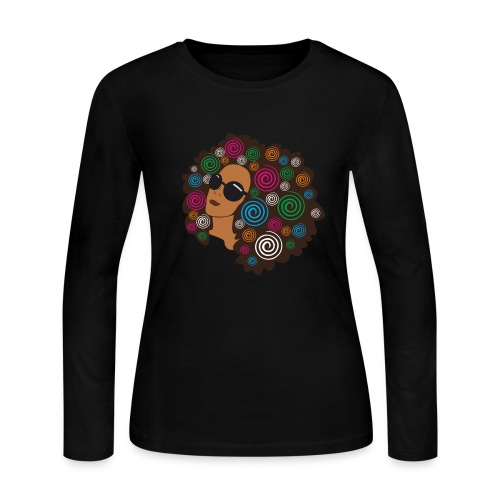 Fro Garden/ long sleeve - Women's Long Sleeve Jersey T-Shirt
