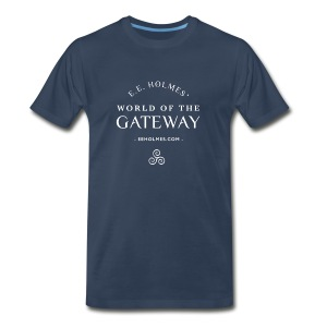 Men's Premium T-Shirt - You already love The Gateway Trilogy. Now you can show your love with an official World of the Gateway t-shirt! Don't just read your favorite books: wear them!