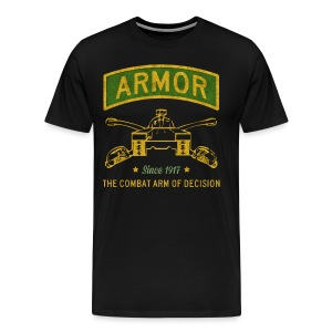 Armor: Combat Arm of Decision - Men's Premium T-Shirt