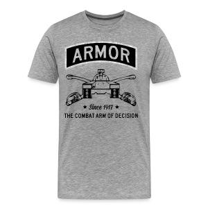 Armor: Combat Arm of Decision - Men's Premium T-Shirt