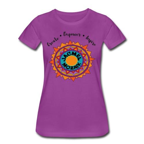 Women's JM Color Logo  - Women's Premium T-Shirt