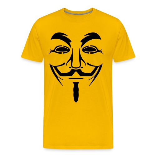 Anonymous Men's Tshirt  - Men's Premium T-Shirt