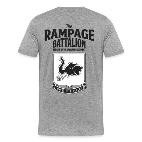 64th Armored Regiment (Back) - Men's Premium T-Shirt