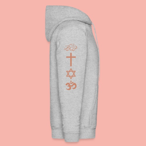 PEACE IN THE WORLD - Men's Hoodie