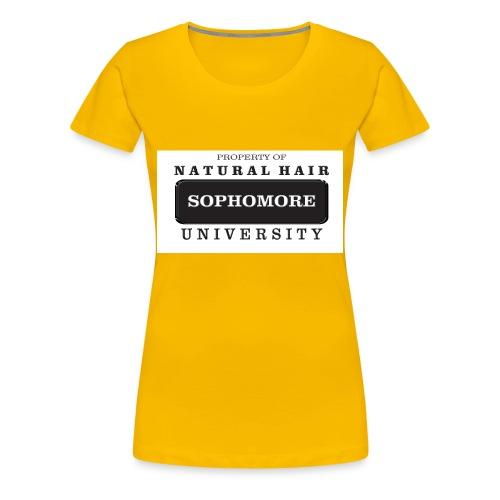 Natural Hair University - Women's Premium T-Shirt