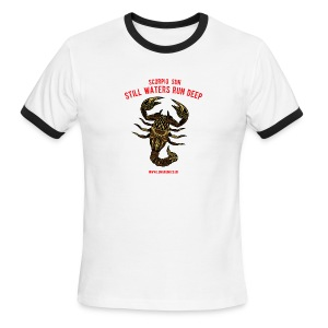 Scorpio Sun Men's Ringer T-Shirt - Men's Ringer T-Shirt