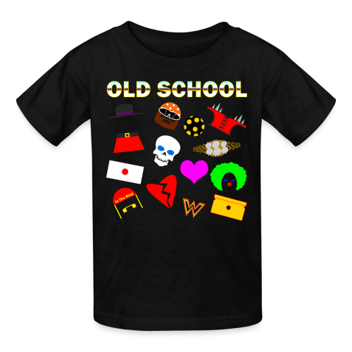 *Kids* -Old School In The Ring T-Shirt - Kids' T-Shirt