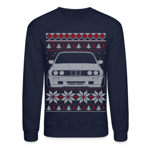 E30 Xmas T-shirt - Crewneck Sweatshirt