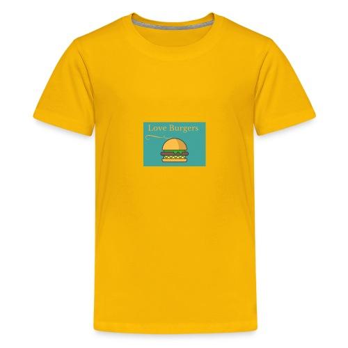 Loves Burger - Kids' Premium T-Shirt