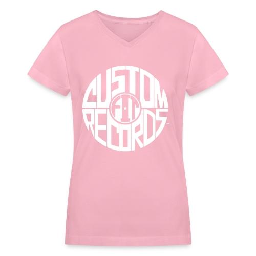 Women's v-neck t-shirt gray - Women's V-Neck T-Shirt