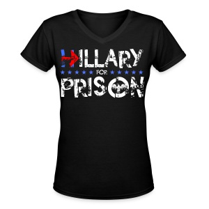Prison 2 - Women's V-Neck T-Shirt