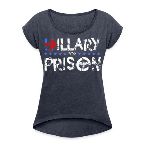 Prison 2 - Women's Roll Cuff T-Shirt