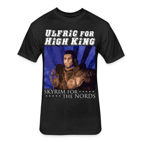 Ulfric for High King 1 - Fitted Cotton/Poly T-Shirt by Next Level