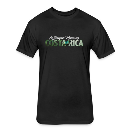 El Bosque Nuevo Costa Rica - Fitted Cotton/Poly T-Shirt by Next Level