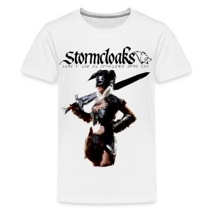 Stormcloaks 4 - Kids' Premium T-Shirt
