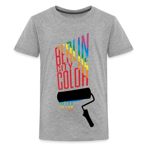 Berlin City of Color - Kids' Premium T-Shirt
