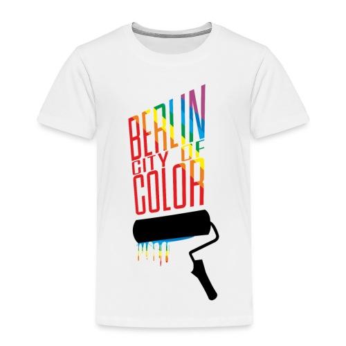 Berlin City of Color - Toddler Premium T-Shirt