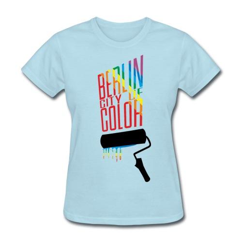 Berlin City of Color - Women's T-Shirt