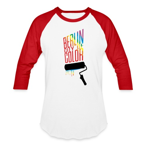 Berlin City of Color - Baseball T-Shirt