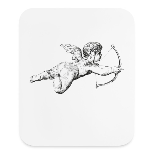 Christmas Love Angel - Mouse pad Vertical