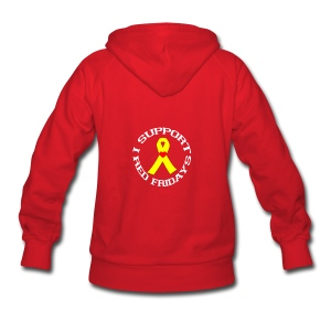 Women's Hoodie - troops,patriotic,navy,marines.,deployed,army,airforce,Red Friday,Military