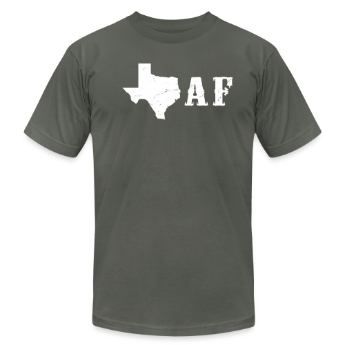 Texas af - Men's T-Shirt by American Apparel