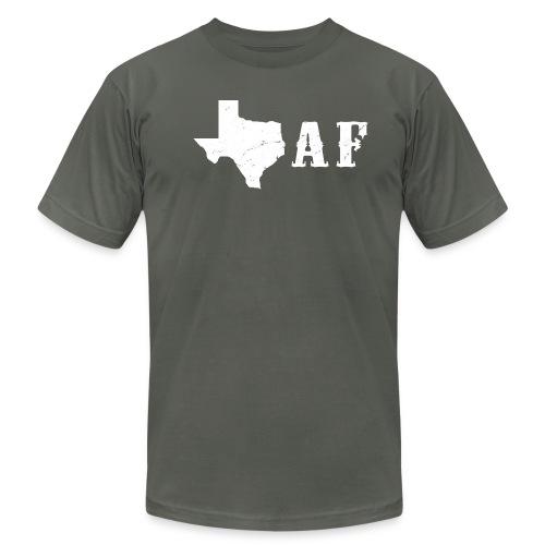 Texas af - Men's Fine Jersey T-Shirt