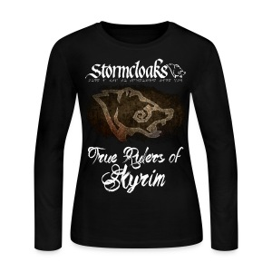Stormcloaks 3 - Women's Long Sleeve Jersey T-Shirt
