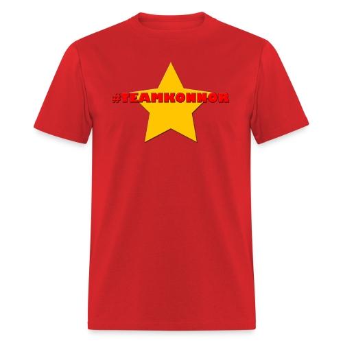 Men's #TeamKonnor Shirt - Men's T-Shirt