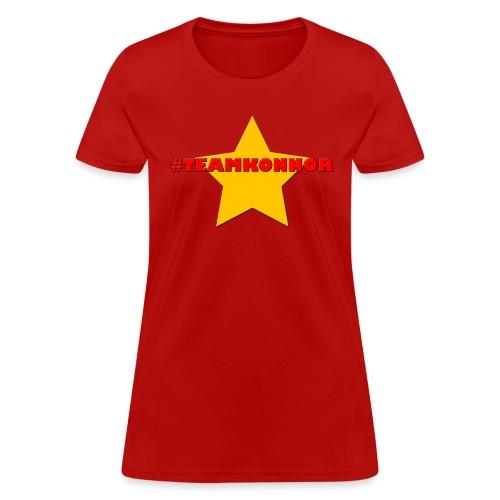 Women's #TeamKonnor Shirt - Women's T-Shirt