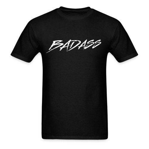 BADASS (White Logo) - Men's T-Shirt