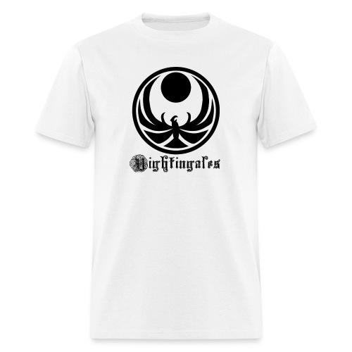 Nightingales - Black - Men's T-Shirt