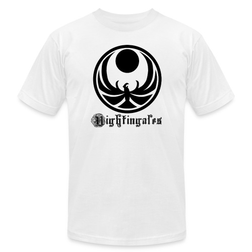 Nightingales - Black - Men's Fine Jersey T-Shirt