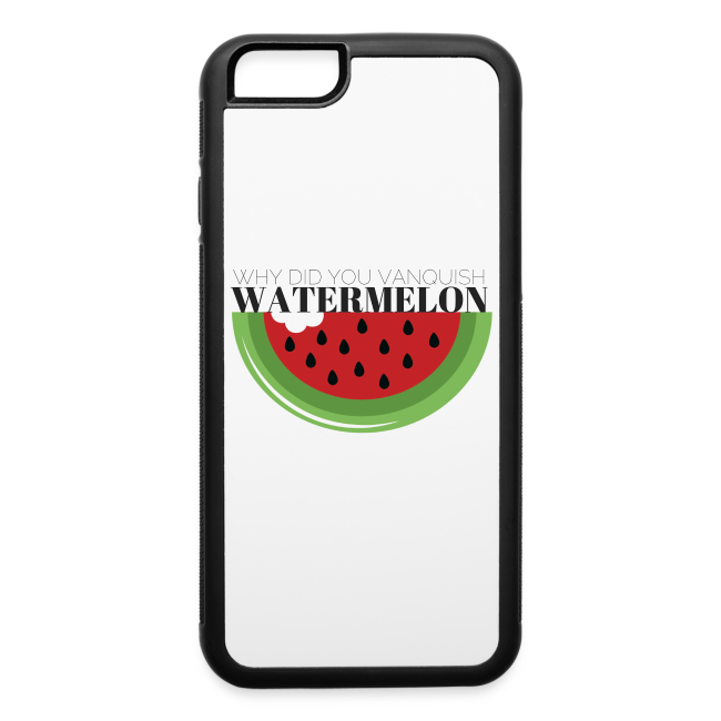 lowest price a77fb 63156 Watermelon iPhone Case (6/6s) | iPhone 6/6s Rubber Case