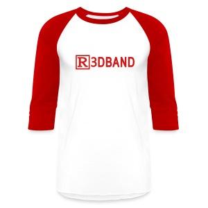 Men's T-Shirt Classic (red text) @setmemory - Baseball T-Shirt