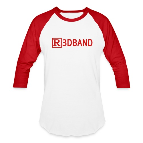 Men's T-Shirt Classic (red text) @setmemory - Baseball T-Shirt