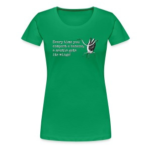 A Mantis Gets Its Wings! -Premium Tee - Women's Premium T-Shirt