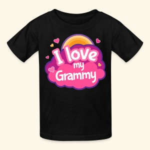 I Love My Grammy T-shirt - Kids' T-Shirt