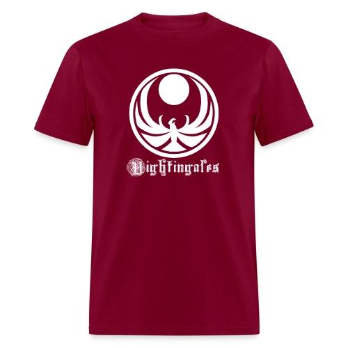 Nightingales - White - Men's T-Shirt