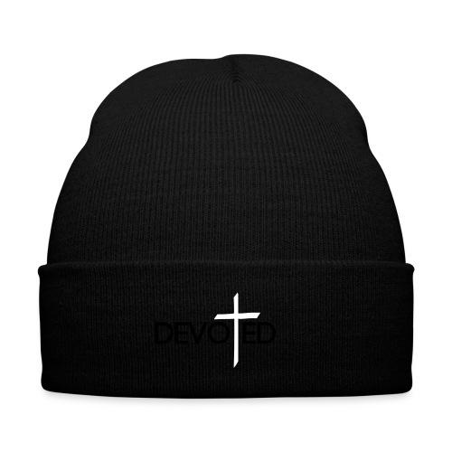 DEVOTED T-SHIRT - Knit Cap with Cuff Print