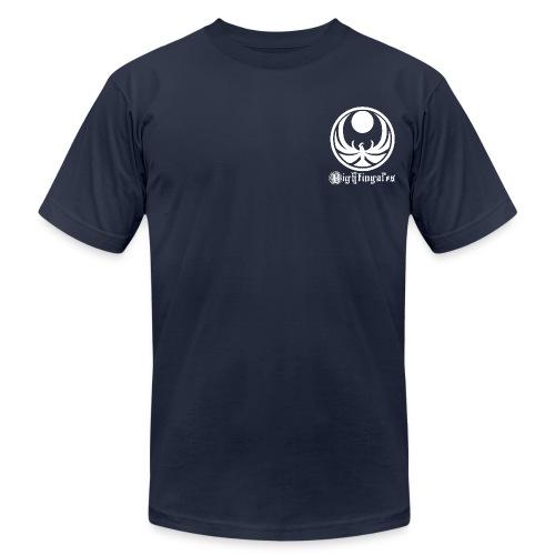 Nightingales - White - Men's Fine Jersey T-Shirt