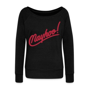 Nayhoo Women's Wideneck Sweatshirt - Women's Wideneck Sweatshirt
