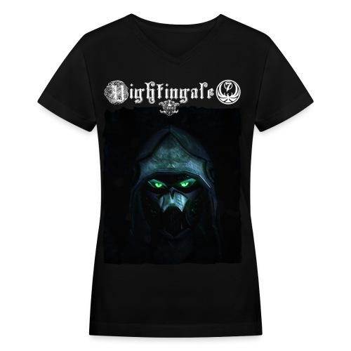 Nightingale - Women's V-Neck T-Shirt