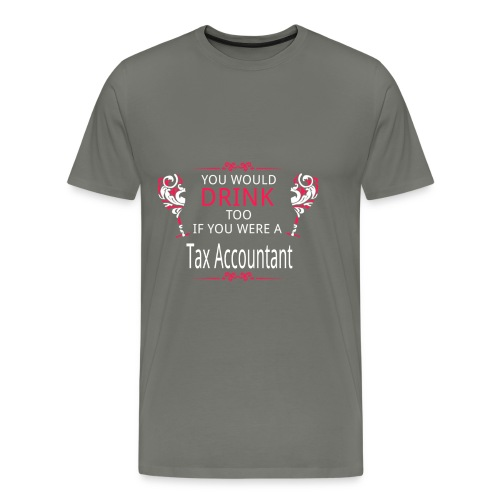 Tax Accountant - Men's Premium T-Shirt