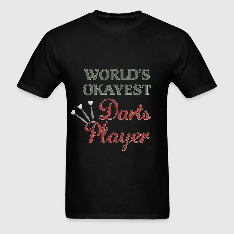 World's okayest darts player - Men's T-Shirt